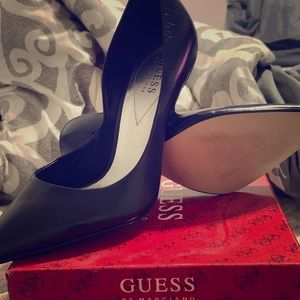 Guess heels real leather